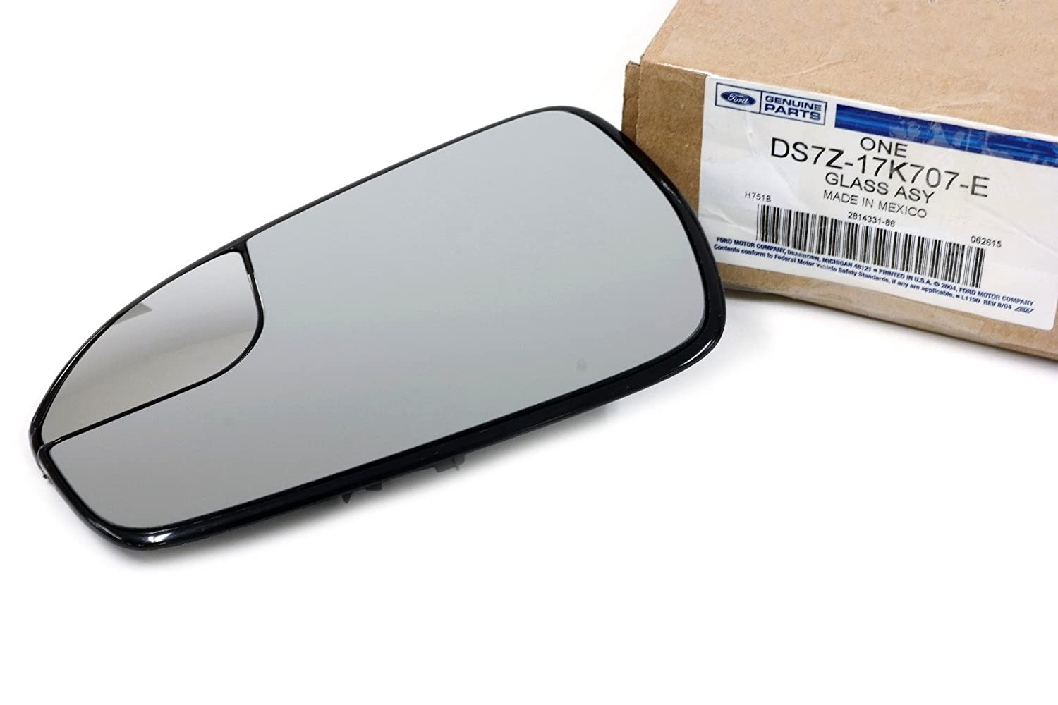 2013-2018 Ford Fusion Right Side View Mirror Glass Power Heated OEM NEW