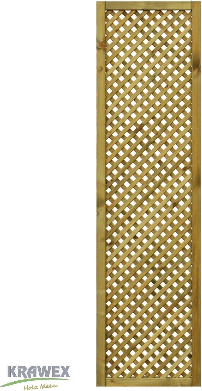 Rankgitter Aus Holz Sichtschutzzaun 50x179cm Amazon De Garten