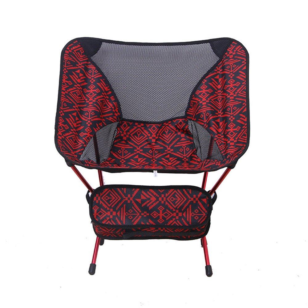 人気の春夏 Camp B07DHBPJZD Camp Chairは、ポータブルのアウトドアスポーツアルミニウム/Small Folded Red Moon Moon Chair B07DHBPJZD, カバンとサイフのおみせ:091e126e --- cliente.opweb0005.servidorwebfacil.com