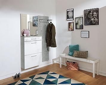 Garderoben-Set, Garderobe, Flurgarderobe, Diele, Schuhschrank ...