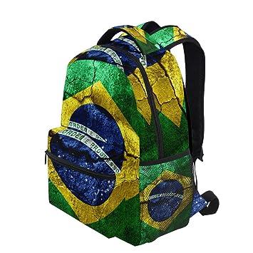 Amazon.com: KVMV - Mochila ligera de estilo brasileño para ...