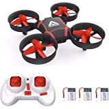 ATTOP Mini Drone for Kids and Beginners- Easy Remote Control Drone, One Key Take Off, Auto-Pairing, Altitude Hold, Throw…