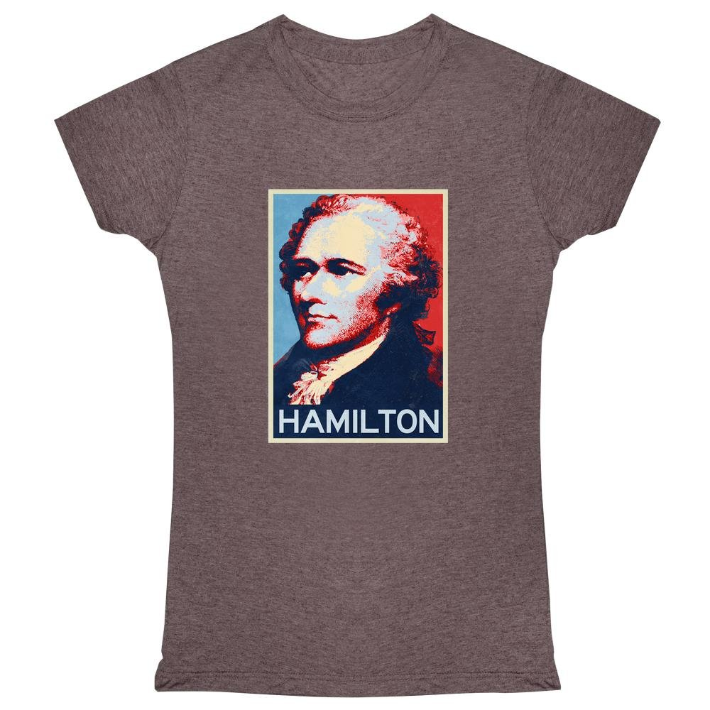 Pop Threads Alexander Hamilton Hope Style Womens T-Shirt by 1485-204