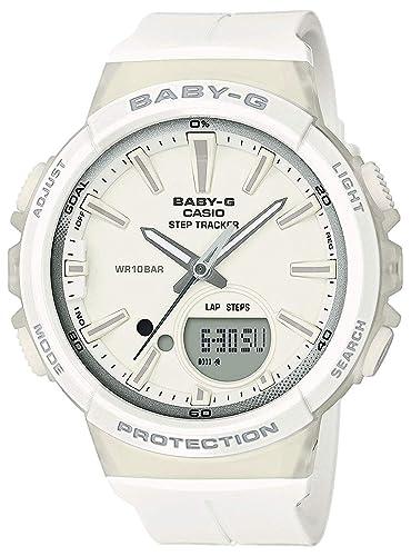 BABY-G Reloj Analógico-Digital para Mujer de Cuarzo con Correa en Resina BGS-100SC-7AER: Amazon.es: Relojes
