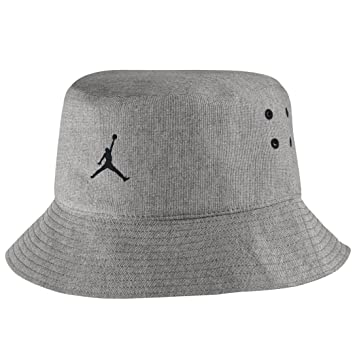 8a52c3a6 ... cheapest nike jordan 23 lux bucket hat dk grey heather cool grey small  7bd32 f25d7 ...