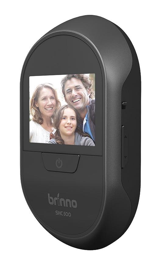 Brinno SHC500 14 - Digital Door Viewers (1,4 cm, Negro, 4,3 cm, 8 cm, AA, 90°): Amazon.es: Bricolaje y herramientas