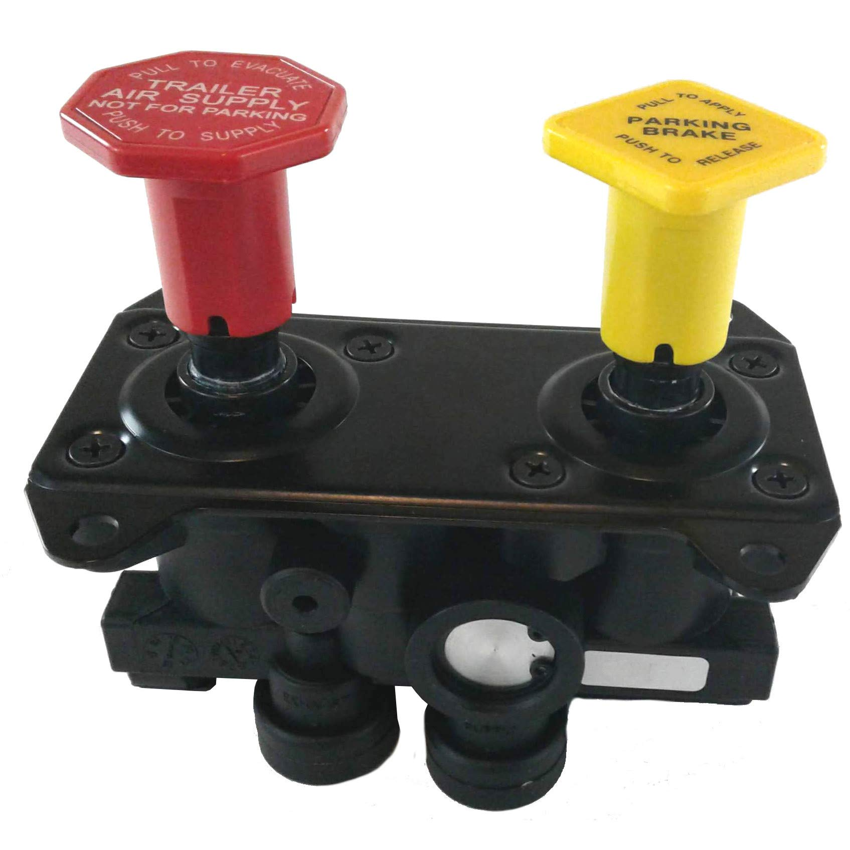 MV-3 Style Hand Operated Parking Manifold Dash Control Module Valve for Heavy Duty Big Rigs