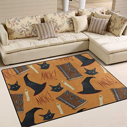 Just A Bunch of Hocus Pocus Area Rug 5'x 7'