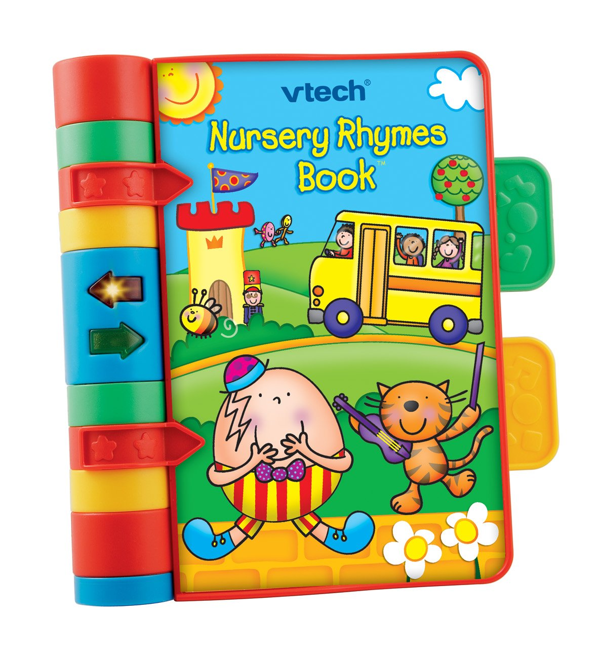 VTech Baby Nursery Rhymes Book   Light Up, Interactive, Musical Baby Book with Sounds & Phrases   Suitable for Babies from 6 Months+