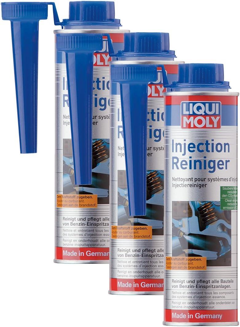 3x Liqui Moly 5110 Injection Reiniger 300ml Auto