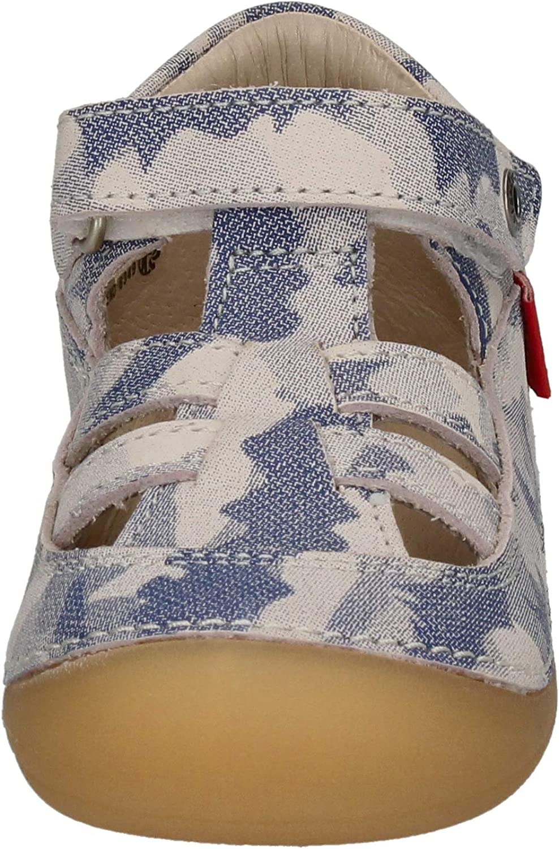 Kickers SUSHY 784841-10-51 Bleu Camouflage