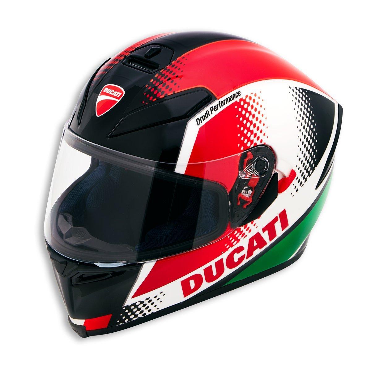 Amazon.com: Ducati Peak V3 Full face helmet by AGV 98103701 (M): Automotive