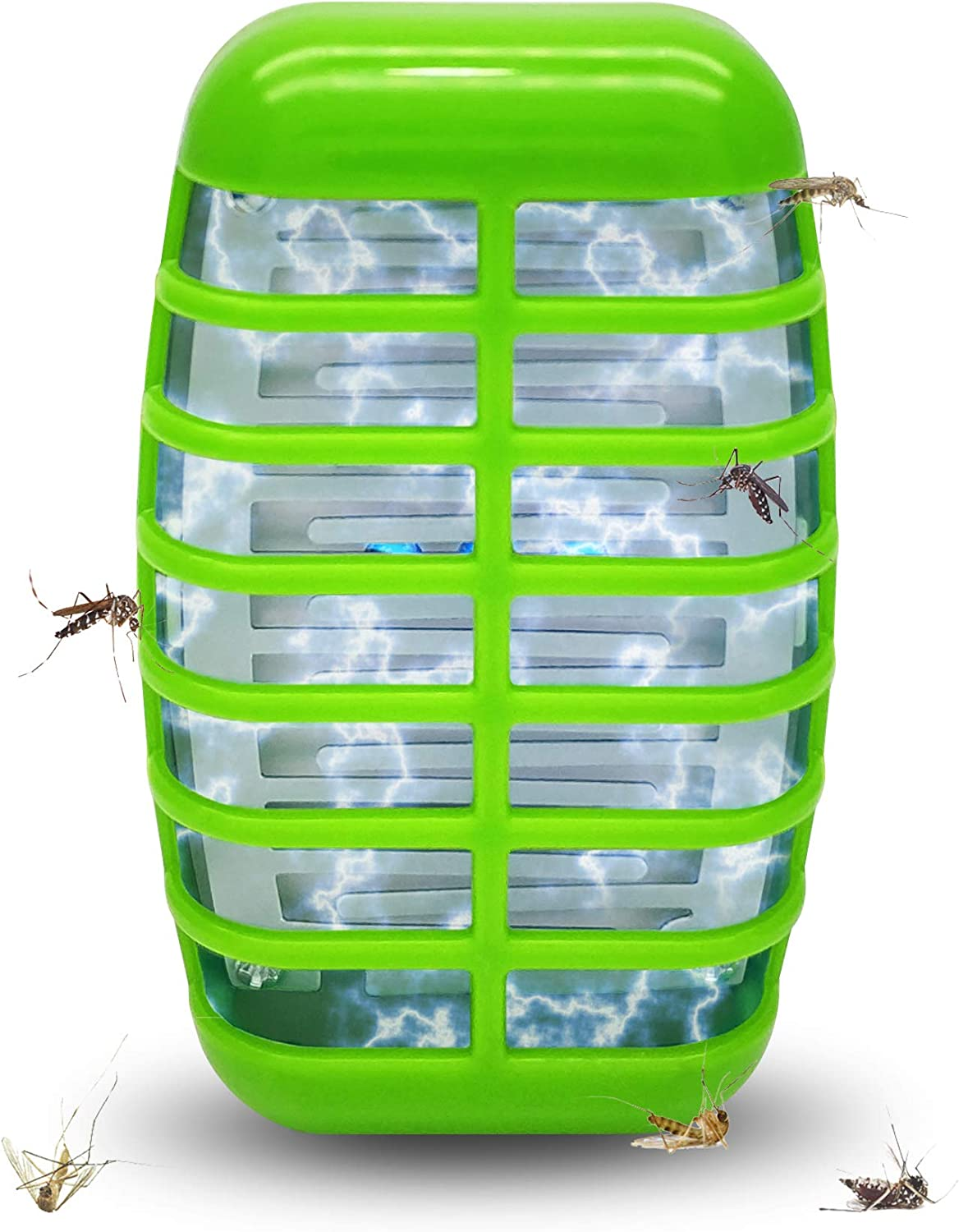 Bug Zapper Mosquito Killer Lamp-2020 New Electronic Insect Trap Night Light Pest Control Repellent, Eliminates Most Flying Pests for Home Use Indoor