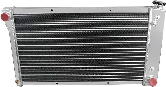 "28/"" Core Radiator FIT CHEVY C10//C20//C30 Trucks Aluminum 3 Row Radiator"