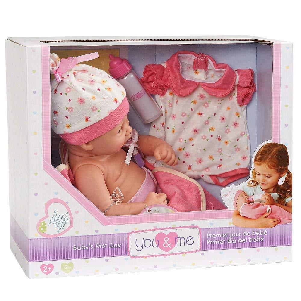 Buy Toys R Us You & Me 8 Inch Newborn Baby Doll In Sleepwear