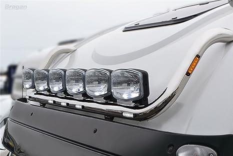 A ajuste Iveco Stralis active space tiempo acero barra superior de lámpara de techo + - Lámpara LED: Amazon.es: Coche y moto