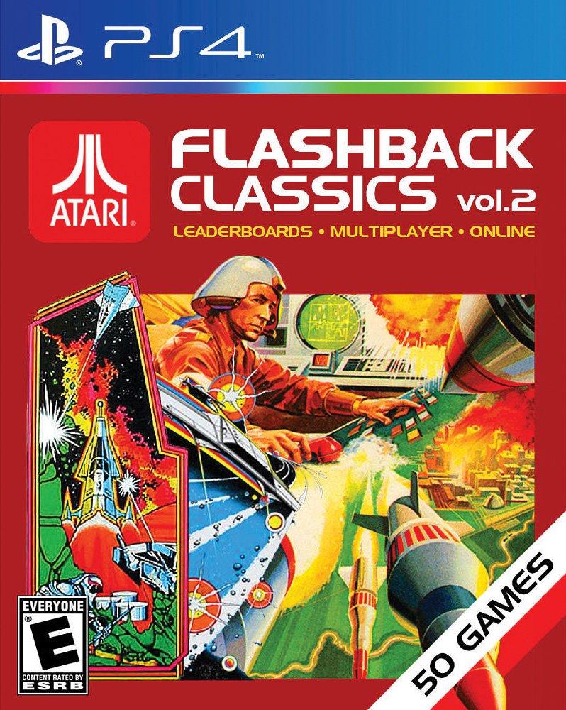 atari flashback 4 games