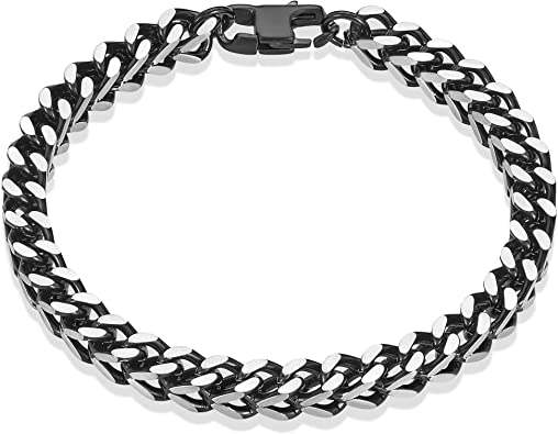 genuine leather black polished cord bracelet chain for pendant secure ca get wet