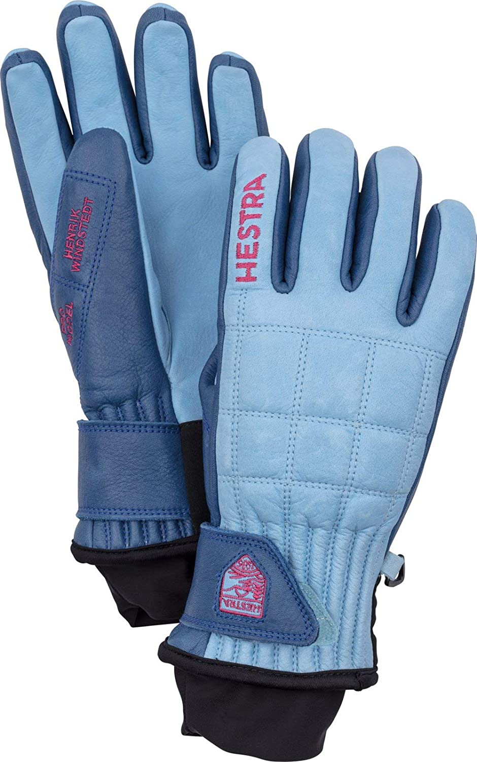 5 Finger Gloves /& Cap Hestra Unisex Henrik Leather Pro Model Winter Bundle