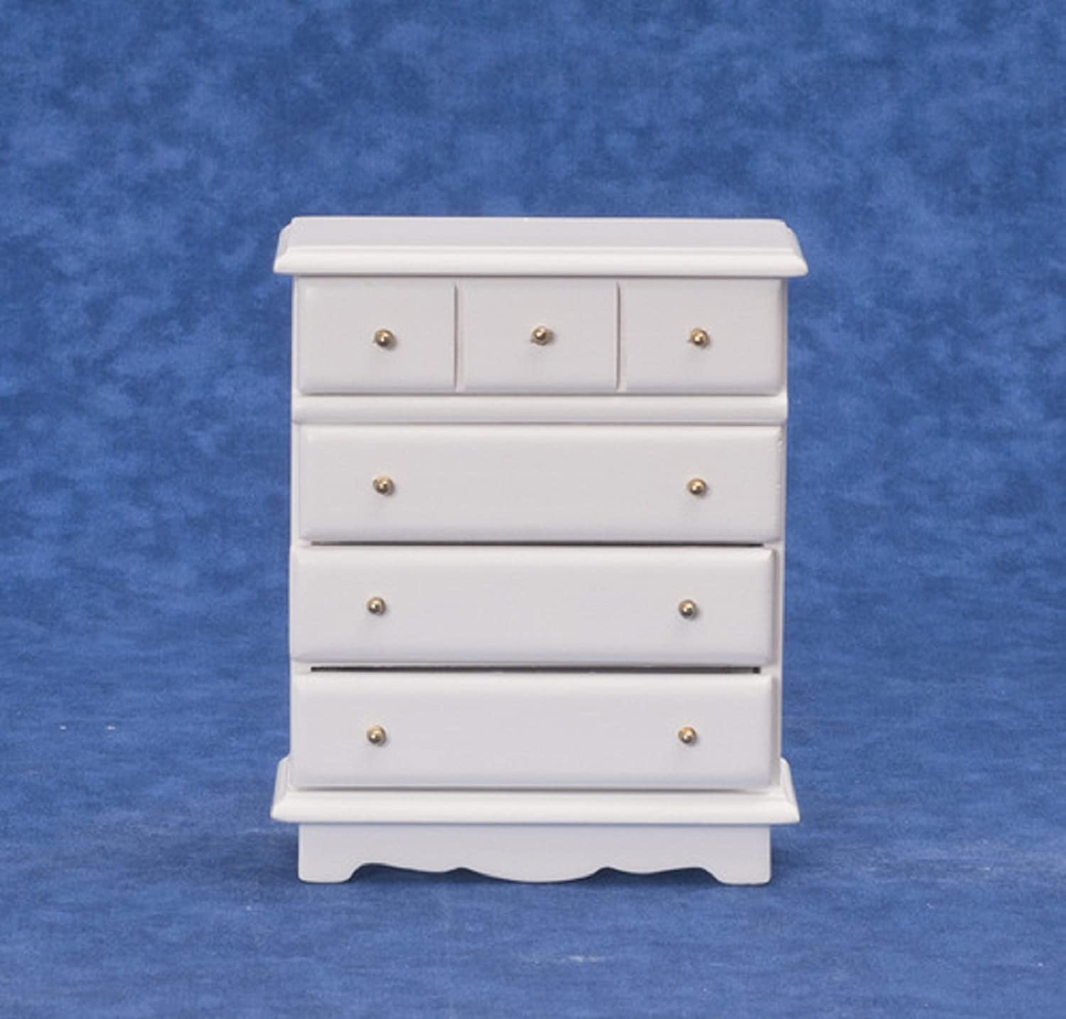 Dollhouse Miniature 1:12 Scale 3 Drawer Wardrobe #12072MH Any Room