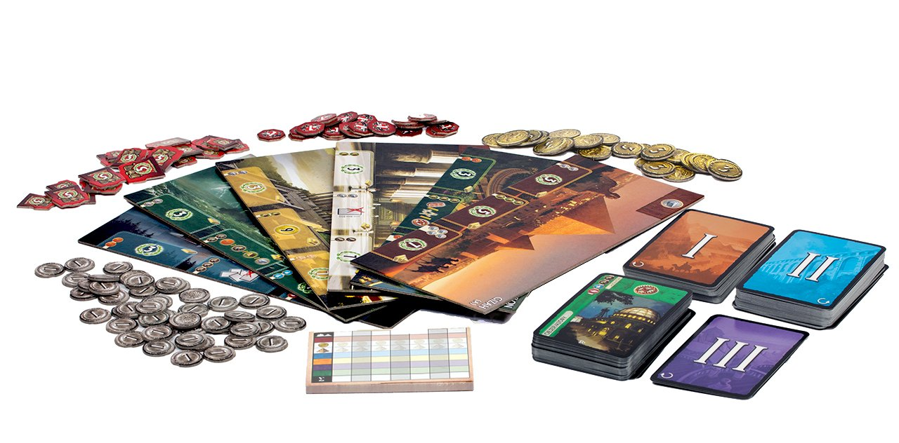 Image result for seven wonders board game
