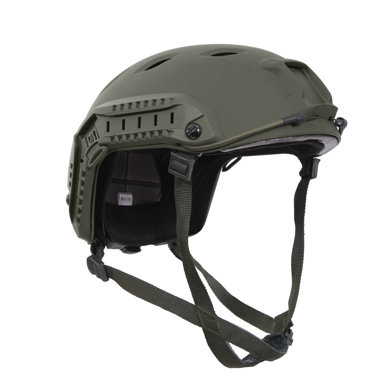 Rothco Advanced Tactical Adjustable Airsoft Helmet, Olive Drab by Rothco