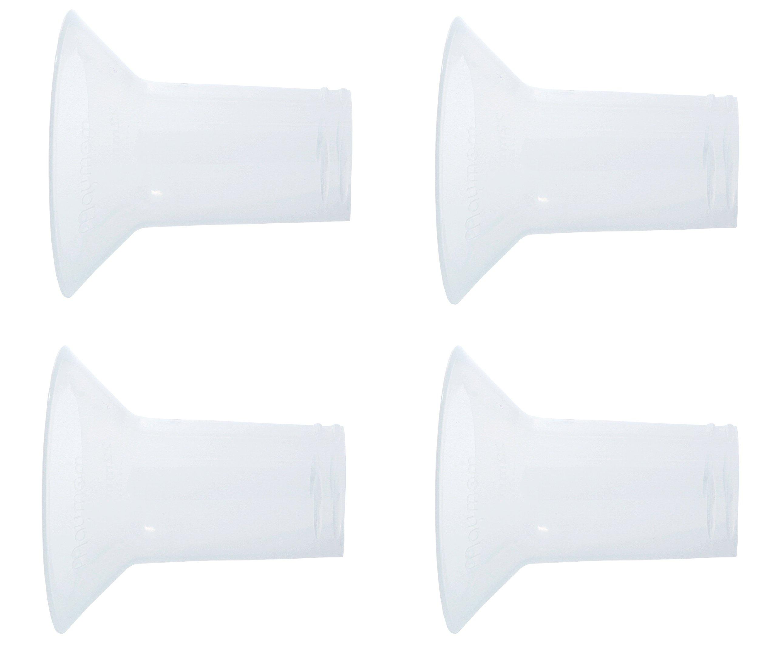 Breastshield Inserts 22mm for Ameda 25mm Breast Shield BPA Free - 4 Pack