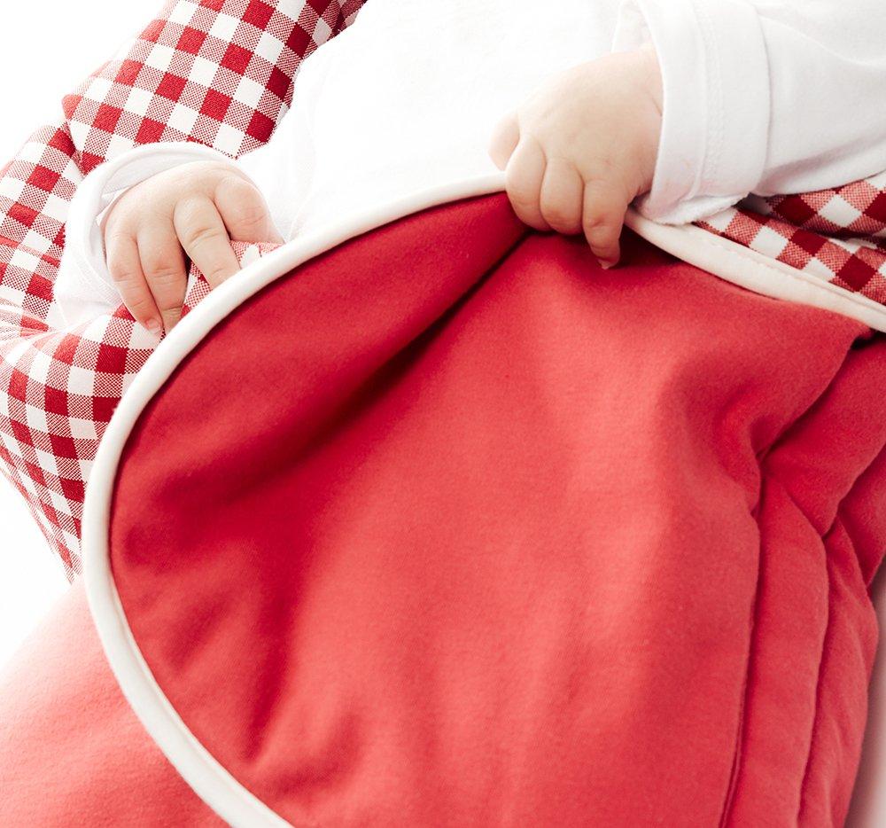 Su/ße Blumenform Wallaboo Einschlagdecke Fleur f/ür Babyschale Autokinderstitz 0-12 Monaten Farbe: Gr/ün f/ür Kinderwagen
