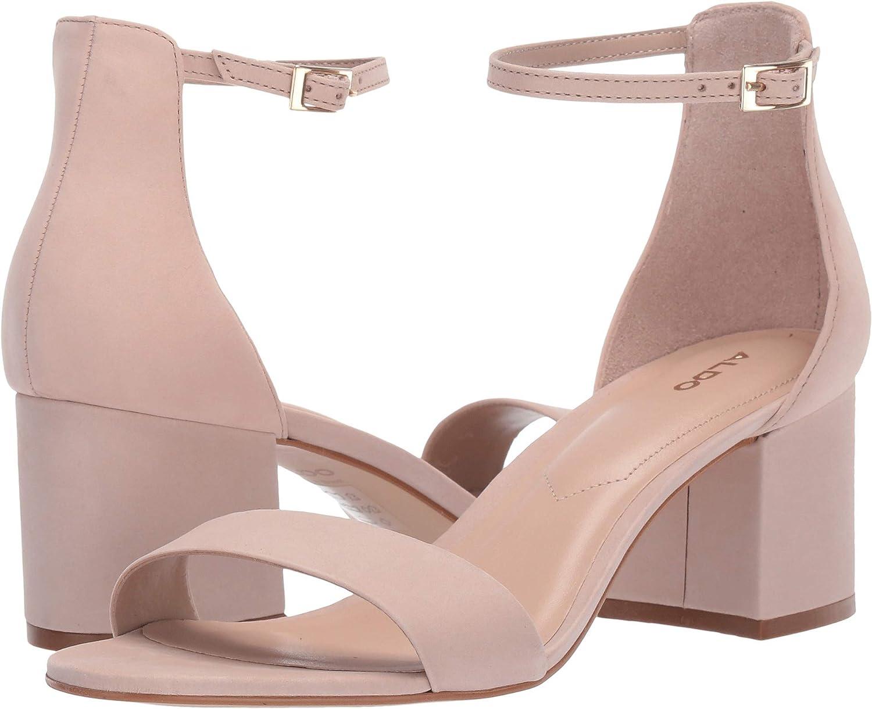 Bone Suede Aldo Women's Villapink Heeled Sandal