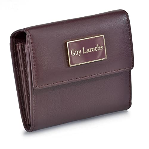 Guy Laroche Monedero Billetero Mujer 6757 (Color: Burdeos)
