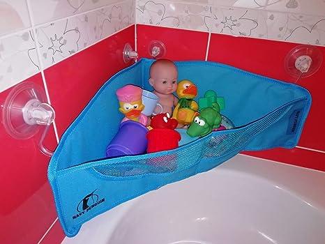 Baby Badewanne Spielzeug Mesh Net Aufbewahrungstasche Halter Badezimmer DL