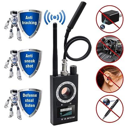 Amazon.com: Detector de espías y cámara detector de señal RF ...