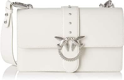 Pinko Love Classic Simply FL Vitello, Bolsa de mensajero para Mujer, 7.5x16.5x27 Centimeters (W x H x L)