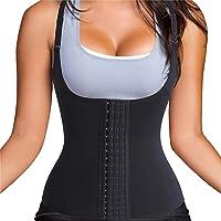 Women's Corset Waist Training Adjustable shoulder strap Vest four-breasted Tummy Control Workout Sport Girdle Corsets