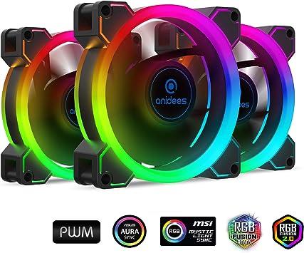 AI Aureola RGB - Grupo de Ventiladores: Amazon.es: Electrónica