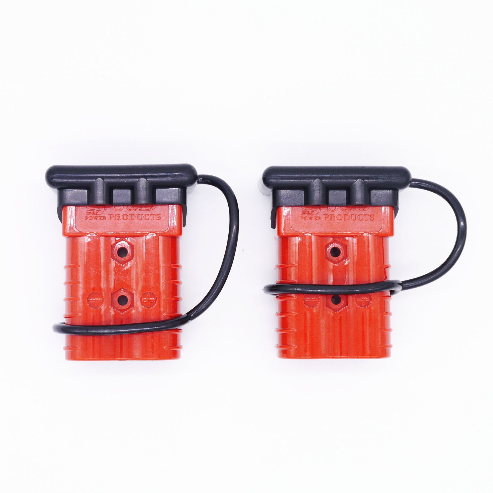 ANTS PART Universal 2-4 AWG 350A Battery Connect Quick Connector Plug for 12V Winch Trailer Driver Electrical Devices by ANTS PART