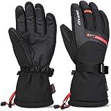 Cevapro -40℉ Winter Gloves Waterproof Ski Gloves 3M Insulated Snowboard Gloves