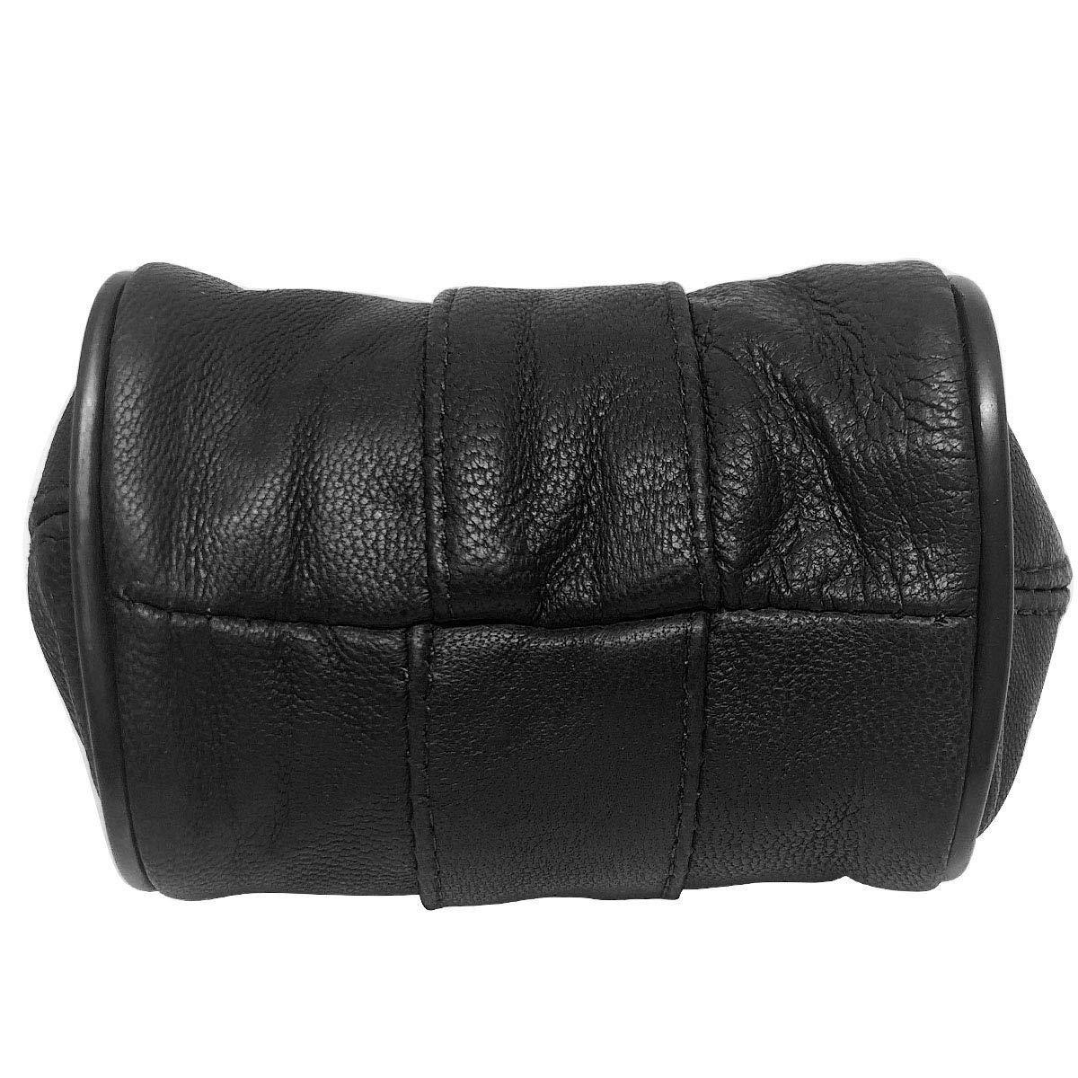 Beige LIVAN/® Porte-Monnaie Clic-Clac R/étro 8,5 x 7,5 x 4,5 cm pour pi/èces et Billets L789 Cuir dagneau - Femme Armature m/étallique dor/é 1 Compartiment