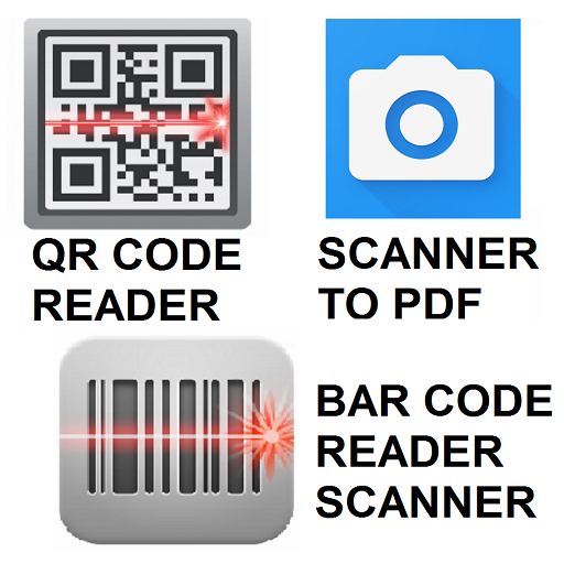 QR Code Reader Barcode Scanner Camera Scan to PDF
