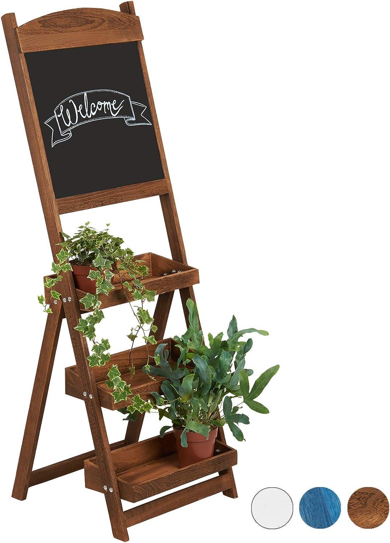 Hartleys Pflanzentreppe mit 3/B/öden und Schreibtafel