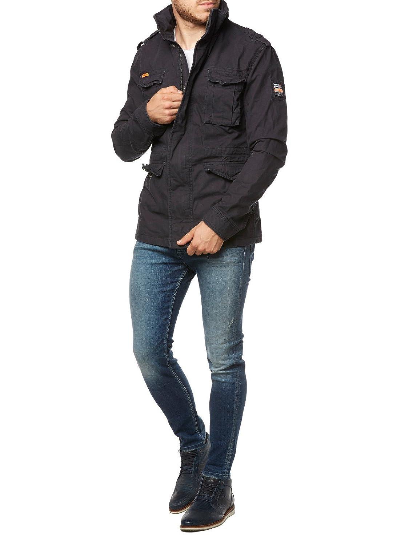 Veste Superdry Rookie Heaby Weather Field Midnight: Amazon