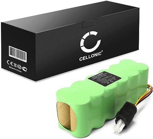 CELLONIC® Batería Premium (14.4V, 3000mAh, NiMH) Compatible con Samsung Navibot VCR/SR8730 8750 8824 8825 8830 8840 8843 8844 8845 8846 8848 8849 VCA-RBT20,DJ96-00113C bateria de Repuesto,sustitución: Amazon.es: Electrónica