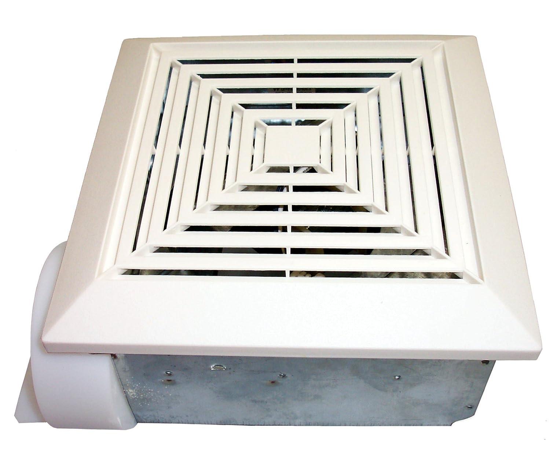 Universal Security Instruments Bathroom Exhaust Fan with Custom-Designed Motor 50 CFM Model BF-504