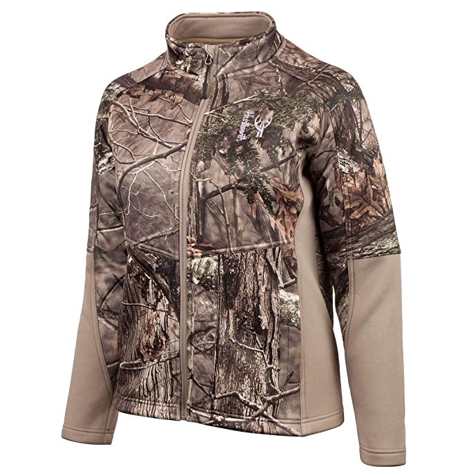6053d115f Amazon.com : Huntworth Ladies Mid Weight Bonded Hunting Jacket : Clothing