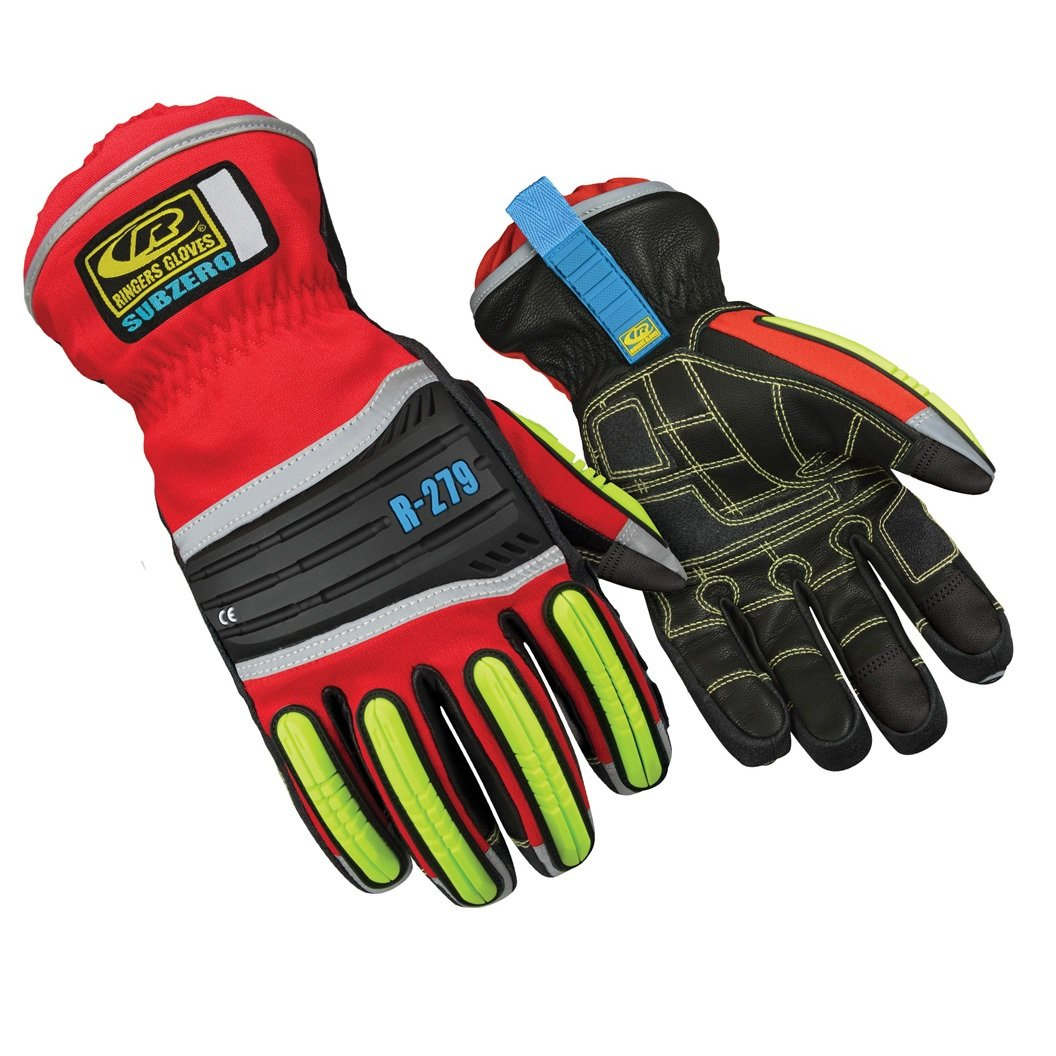 Ringers R-279 Subzero Insulated Work Gloves, Cold Weather/Snow Gloves, X-Large
