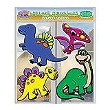 Deluxe Dinosaurs Flexible Gel Clings - Double XL