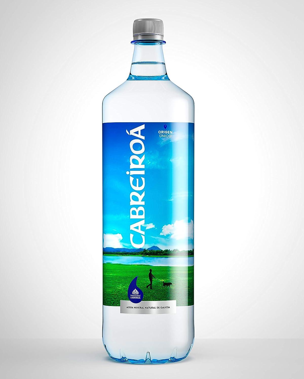 Agua Cabreiroa Pet.1,5L: Amazon.es: Alimentación y bebidas