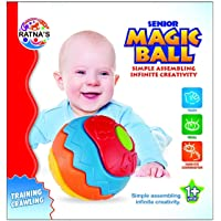 Ratnas Magic Ball Light Weight Assembling Toy, Training Crawling for Infants, Non Toxic