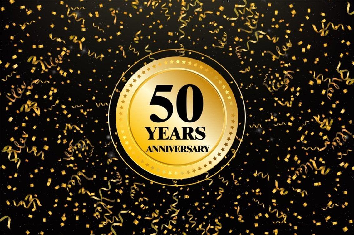 Amazon.com: CSFOTO - Fondo para fotografía de 50 años ...