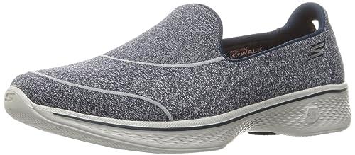 Skechers Gowalk 4-Super Sock 4, Zapatillas para Mujer: Amazon.es: Zapatos y complementos